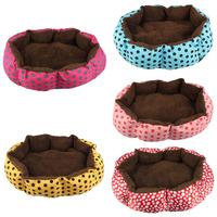 Scolour Soft Fleece Pet Dog Puppy Cat Warm Bed House Plush Nest Mat Pad Freeshipping