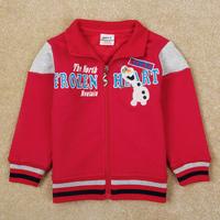 New arrival Boys Children Outwear Nova new Embroidery Olaf Cartoon Frozen Boys Jackets Casual design coat for boy A5152