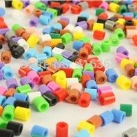 2.6mm   mini MORE COLORS! Authentic Perler Beads Iron Fuse Bulk  1000bag  500pcs/bag  free shipping