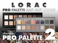 Factory Direct!60 Pieces/Lot New LORAC Pro Palette And Pro Palette 2 16 Colors Eyeshadow & Primer!