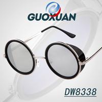 STEAMPUNK Retro COATING Mens Vintage Style Round SUNGLASSES Men Women Brand Designer Gafas OCULOS de sol feminino Sun GLASSES