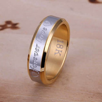 New Christmas,Wholesale 925 silver ring Forever Love Ring-For Men shipping free,antiallergic fashion jewelry,Ring Jewelry