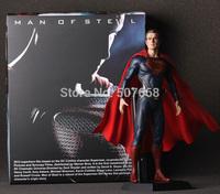 "4pcs/lot Crazy Toys Superman Man of Steel PVC Action Figure Collectible Model Toy 12"" 30CM"