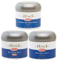 3pcs IBD Builder Gel 2oz / 56g Strong UV Gel Pink Clear White for nail art false tips extension 3 color to choose