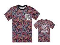 Brand name Crooks & Castles t-shirt new design men's hip hop tee shirts fashion baseball t shirt casual tee clothing S-3XL