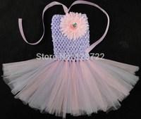 Wholesale handmade Free shipping new Girls Baby Kids Toddlers Summer tutu dress sleeveless Dress children's clothing 100pc/lot