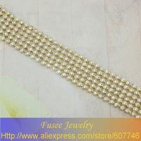 ISE00998 Fashion 18K gold plated Filled Wide bracelet