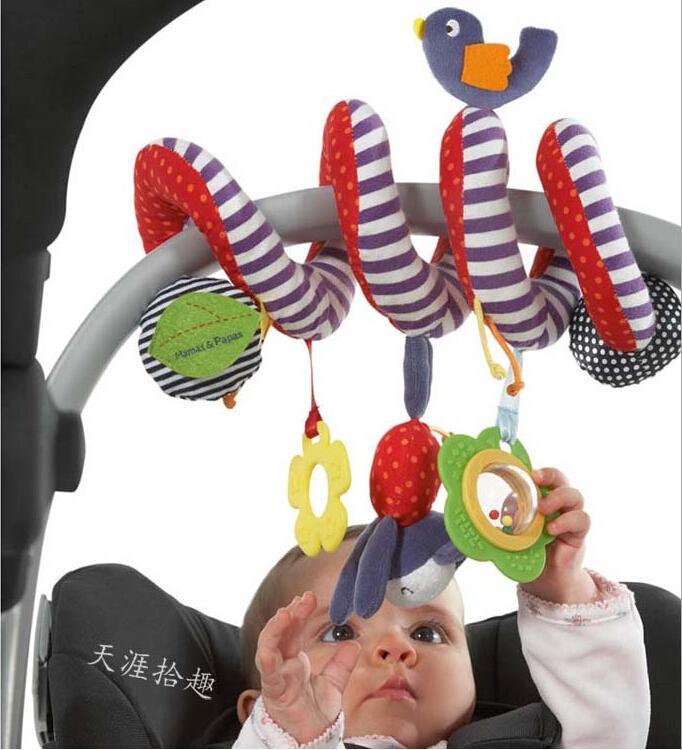 1шт детской кроватки игрушки вращается вокруг