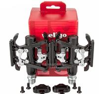 original wellgo c099 c099b mountain bike lock double faced dual bearing lock pedal mtb pedal double-use pedal