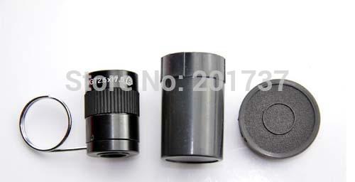 Free shipping Black Mini Monocular Binocular Spy hidden Invisible Telescope tool Pocket size(China (Mainland))