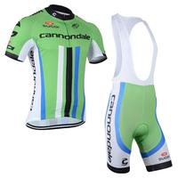 2014 Bike team Clothing Cycling wear bicycle set jersey shirt/padded shorts(bib)/ men sportswear S-3XL