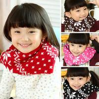 2014 New Rushed Freeshipping Print Fashion Unisex Ring Cotton 80cm-100cm Winter Snow Baby Warm Wholesale C163 Children