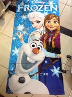 60*120cm Frozen Towels baby bath towel Children Beach Bath Towel Frozen Elsa & Anna Princess Girls Bikini Covers Free Shipping