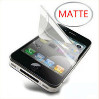 50pcs New MATTE Anti Glare Clear LCD Screen Protector Guard Cover Film For  iphone 4 4S 4G iphone4