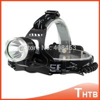 2000Lm Waterproof CREE XML T6 Zoom LED Headlight Headlamp headlamps lantern Head Lamp Light Adjust For Bicycle Camping Hiking