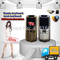 """Free Shipping,2014 New V1 Phone 3.5"""" HD Screen,Russia Keyboard & Arab Keyboard, 2 SIM Card,Welcome to order!"""