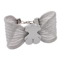 New style heart-shaped flower bracelet Winnie  titanium steel bracelet Lovely butterfly shape bracelet