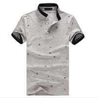 Summer men's cotton trade brand T-shirt Hot Men Men T-shirt trend seasonal clearance