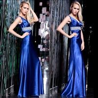 New Design Women Sweetheart Floor-Length Prom Dresses Female Satin Elegant Formal dress Long Lady Girl Party Evening Dresses