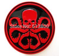 Avengers Captain America Hydra / red skull belt buckle