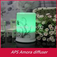 Wholesale 48pcs/lot Ultrasonic aroma fragrance diffuser flower aroma diffusers aroma diffuser humidifier