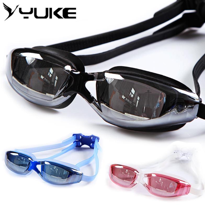 Ms. Yu g goggles male big box plating water fog swimming goggles(China (Mainland))
