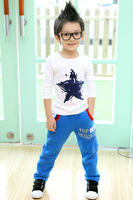 long sleeve red blue yellow green white kids clothes boys t shirt children clothing