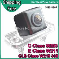 Car Rear View Camera for Mercedes Benz  C Class W203  , E Class W211 , CLS Class 300 W219 Backup Reverse Camera  SMS-8207
