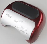 Auto Induction With EU & US Plug 110-240V 48W LED Nail Art UV Lamp For Gel Shellac Polish Curing  100% High Quality 681
