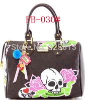 FREE SHIPPING new arrived PB Fashion women's  Handbags Skull Heads SIGNATURE Twister Bags I LOVE PB BNWT UK Shoulder bag PB-30#