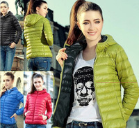 2015 New Women Hooded Clothing Fashion Down Coat Winter Jacket Outerwear Winter Clothes Womens Thick jackets Overcoat Tops A139
