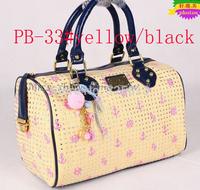 FREE SHIPPING new arrived PB Fashion women's  Handbags SIGNATURE Twister Bags I LOVE PB BNWT UK Shoulder bag PB-33#