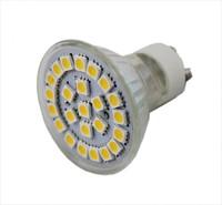 GU10 4.5-5W 24 5050 SMD LED light 450-500Lm 120 degree Warm White/Cold White 220V-240V 10pcs