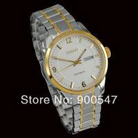 Details about Debert white sapphire glass watch day/date CITIZEN Miyota 8205 movement 7022-2