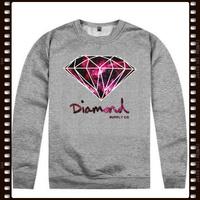 Free Shipping Stock Diamond Brand Cheap fleece print pullover sportswear sweatshirt sweater diamond supply co Korean style hoody