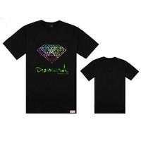 Free shipping hip hop Diamond Supply men t shirt men fashion high quality t shirts