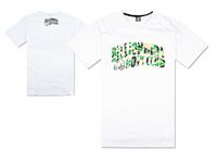 Stock Free Shipping men's fashion streetwear designer BBC short t shirt 2014 for summer designer brands hip hop black T shirt