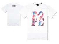 Free shipping Men's fashion t-shirt 2014 pink dolphin high quality hip hop fashion New style 100% cotton Diamond t-shirt