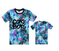 2014 Free shipping hip-top tanks tee shirts COKE BOYS men's tank t-shirts summer clothes corful clothing tops