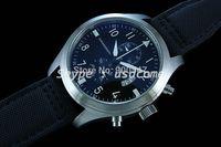48mm Parnis Pilot Chronograph Black Dial Watch 002