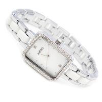 Brand KIMIO Watch women bracelet watch Women Dress Watches Colored ceramic bracelet casual Wristwatches
