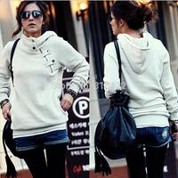 New 2014 Spring Autumn Women Sweatshirt Fashion Sport Suit Pullover Fleece Warm Girls Winter Clothing free shipping  A705