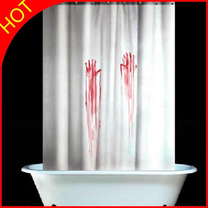 Cortinas De Baño Aliexpress:Blood Bath Shower Curtain