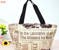 Small cute lunch bag handbag new fashion versatile casual lunch bag