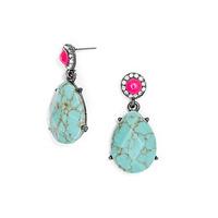 2014 Luxury Fashion Jewelry Full Rhinestone Dangle Water Drop Earrings 140905