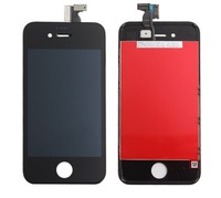 For iPhone 4 4S LCD Display+Touch Screen digitizer+Frame assembly,Free Shipping,best quality (Black)