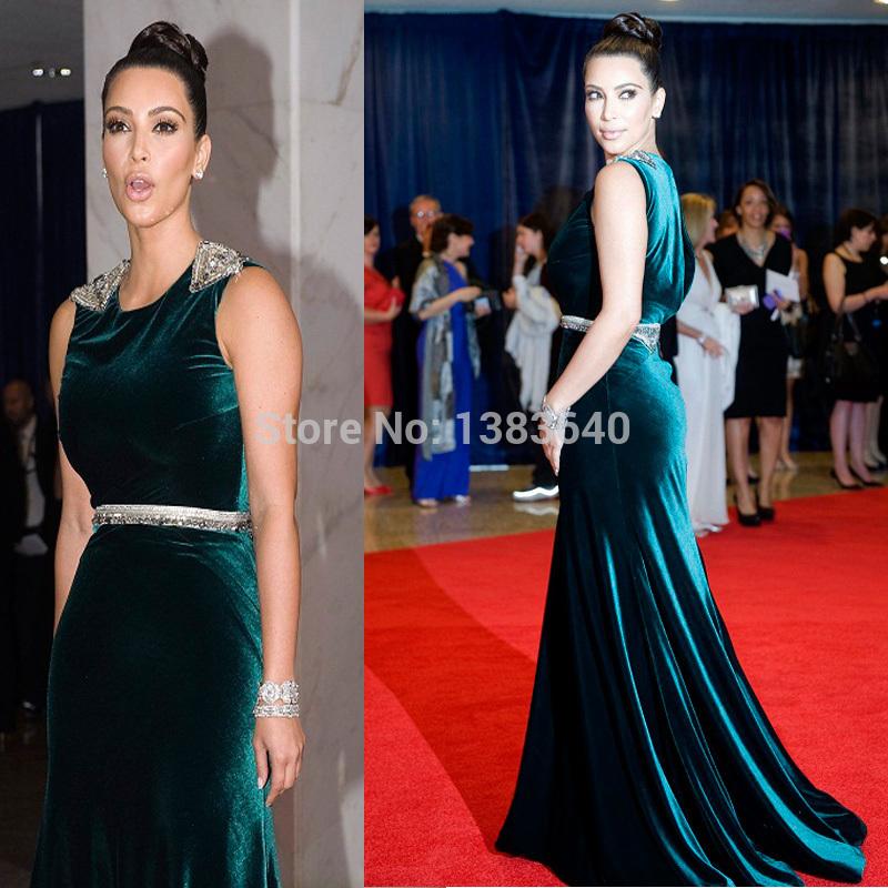 Green Long Dress Red Carpet Red Carpet Dresses