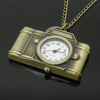 Jewelry Antique Bronze Alloy Camera Design Pocket Watch With China