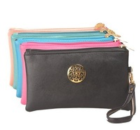 korean style lady  Cosmetic wallet Bag purse water proof pencil Storage bag