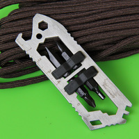 9 tools in one EDC Tool, Mako Ti Bike Tool,W/Bit Driver,Wrench, Bottler Opener, free Shipping
